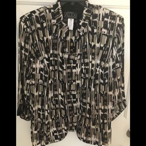 Women's 1X tank& jacket NWT embellished